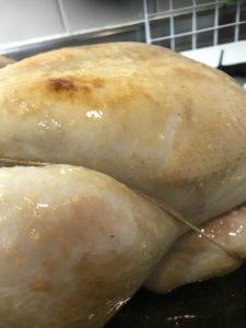 鶏胸肉焼き色