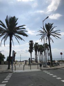 バルセロナ街並み