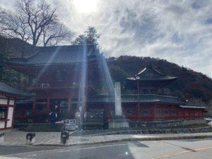 奥日光 中禅寺 立木観音堂