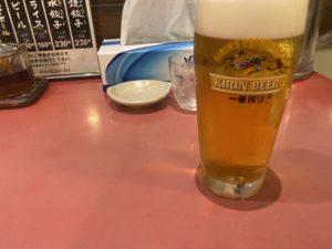 みんみん生ビール