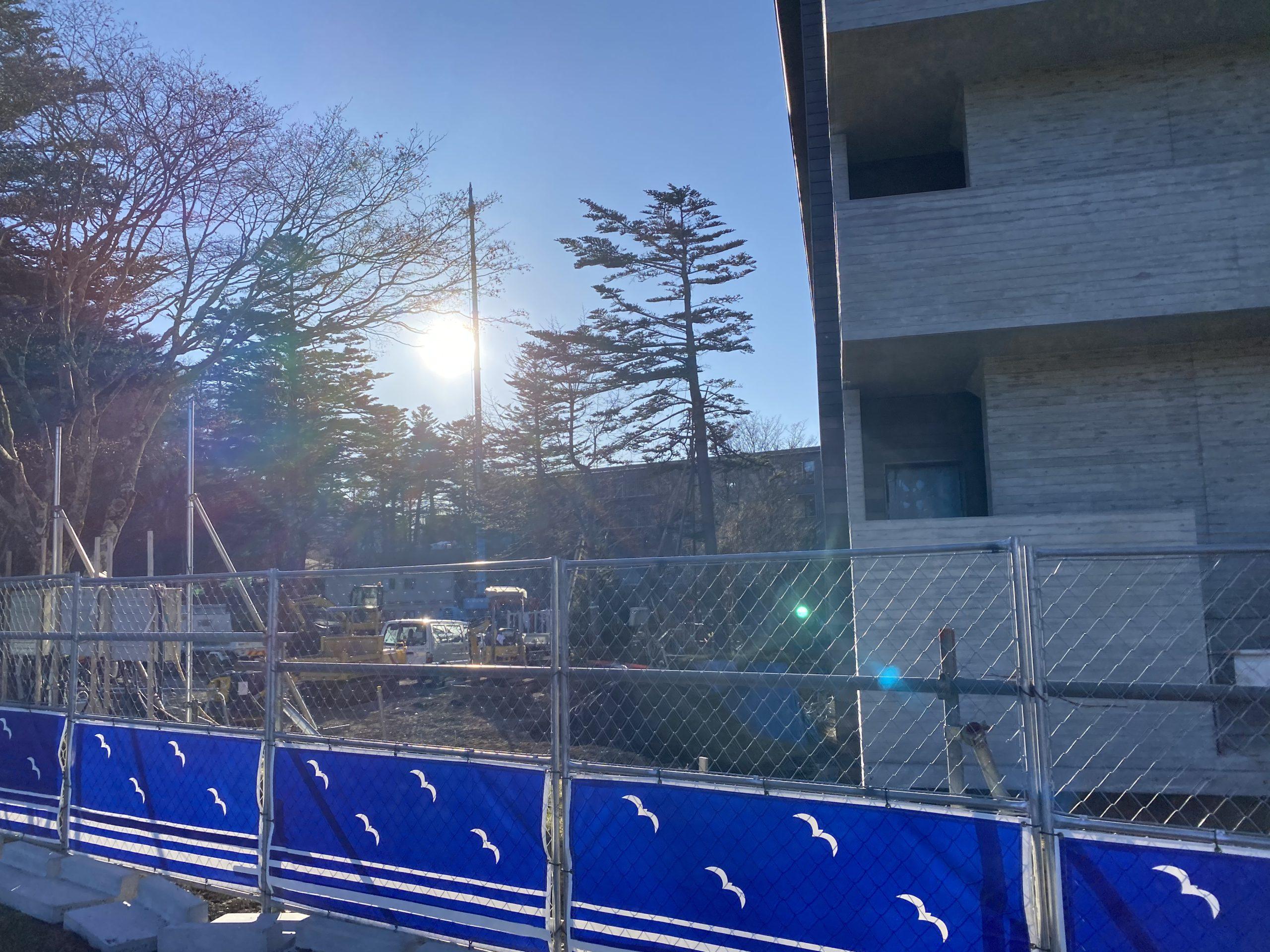 リッツカールトン日光 建設