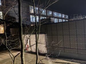 リッツ・カールトン日光建設現場