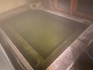 日光山水 露天風呂