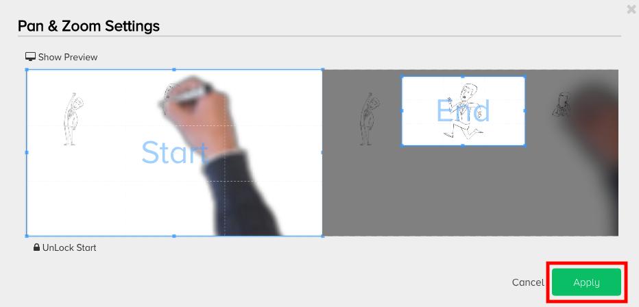アニメーションを入力